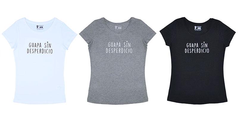 Camisetas, sudaderas y bodys en modal y algodón orgánico Guapa Sin Desperdicio