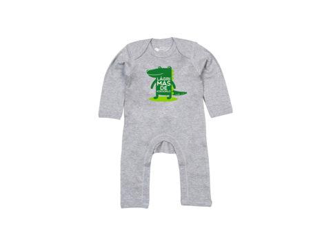 Lágrimas de kokodrilo - Bodie entero bebé (Soft grey)