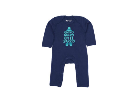 Chiko nuevo en el barrio - Bodie entero bebé (azul navy)