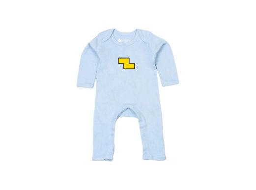 Equipo kompleto - Bodie entero bebé (azul claro)