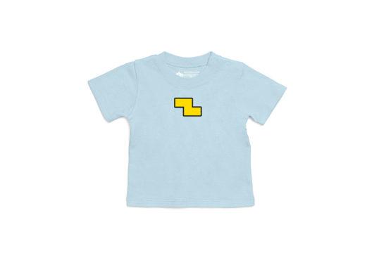 Equipo completo - Camiseta manga corta bebé (azul claro)