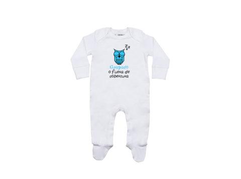 Apagado o fuera de cobertura - Pelele bebé (blanco)